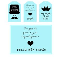 kit imprimible día del padre