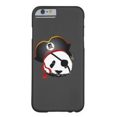Pirate panda barely there iPhone 6 case