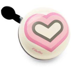 #bell #ilovemybike #dingdong #fashionbike #bike #cycling #bigbell #hearts #sweetbell #electrabell