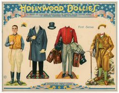 75.2384: Hollywood Dollies: Douglas Maclean   paper doll   Paper Dolls   Dolls   Online Collections   The Strong