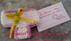Crystal Arte Crochê: LEMBRANCINHA MINI CALCINHA BEBÊ EM CROCHÊ