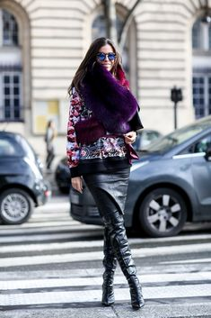 See Every Street Style Snap From Paris Fashion Week: Don't be fooled: the final lap of Fashion Month is no less stylish.