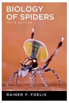 The Arachnologist's bookshelf should include this one!