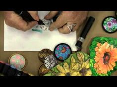 Syndee Holt Demos Chameleon pens on Sculpey Clay  ~ Polymer Clay Tutorials