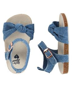 OshKosh Chambray Sandal Crib Shoes from OshKosh B'gosh. Shop clothing & accessories from a trusted name in kids, toddlers, and baby clothes.