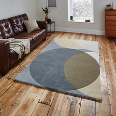 Elements Rugs EL43 in Grey