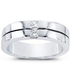 Men's Diamond Wedding Band - R2085