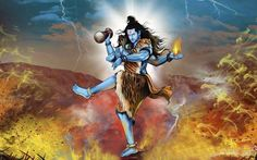 Dance Of Lord Shiva - Animated