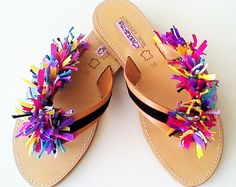 Kids 28-35 & Women's 36-41 Leather Sandals . Now available in the Chic Sandals Shop @ www.etsy.com/shop/ChicSandals