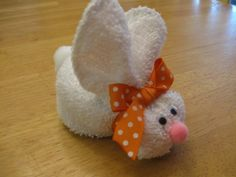 Boo boo bunny for baby's easter basket