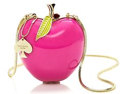 Kate Spade Far From The Tree Resin Apple Bag