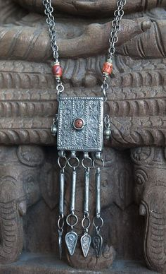 Hey, I found this really awesome Etsy listing at https://www.etsy.com/listing/217959788/amulet-pendant-necklace-antique-silver