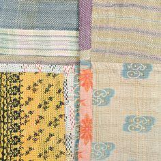 Large Kantha Quilt - Patchwork 38