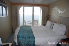 """My review of my Royal Caribbean Oasis of the Seas balcony cabin: Cabin 12198 was located mid-ship on the """"hump"""" for my transatlantic cruise. 