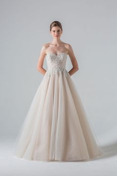 Anne Barge - Sweetheart Ball Gown in Tulle Anne Barge Wedding Dresses 3f287c995a84