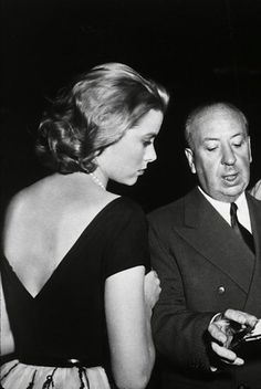Hitchcock sur le tournage de fenêtre sur cour