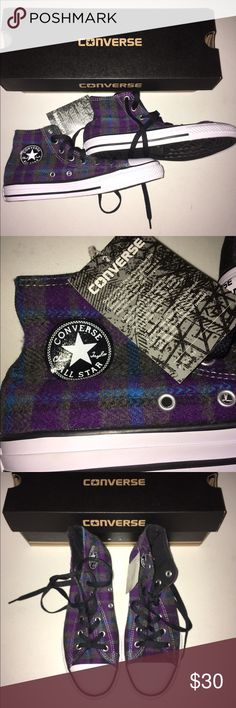 Converse sneakers Chuck Taylor kids size 4 & 1 NIB Converse sneakers new in box kids size 4 and 1 Converse Shoes