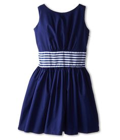 fiveloaves twofish City Girl Dress (Little Kids/Big Kids) Navy - Zappos.com Free Shipping BOTH Ways
