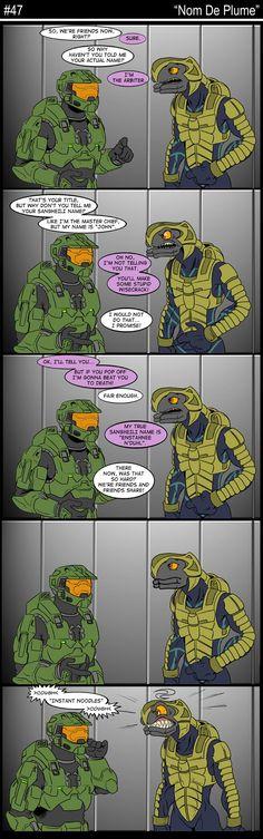 Funny Halo Comic