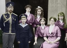The Romanov Imperial Family of Russia 1913