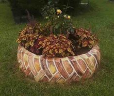 "The ""brick"" tire 