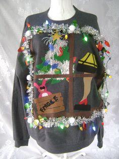 A Christmas Story Leg Lamp inspired Christmas by Gizmopurses