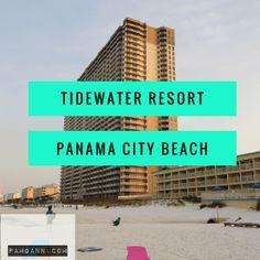 Tidewater Resort in Panama City Beach Florida