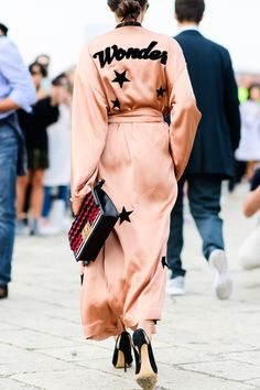 finest selection 706a2 2d5f3 The Best Street Style From Milan Fashion Week