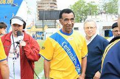 Flavio Minuano no centenário do Pelotas