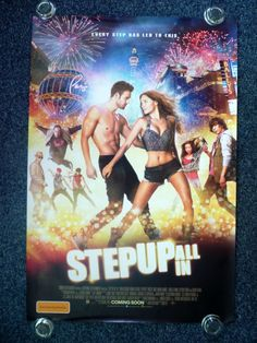STEP UP All In Original 2014 Advance Australian One Sheet Movie Poster