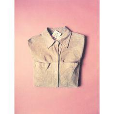 Vintage Suede Shirt. #suede #vintage #berlin #sustainablefashion