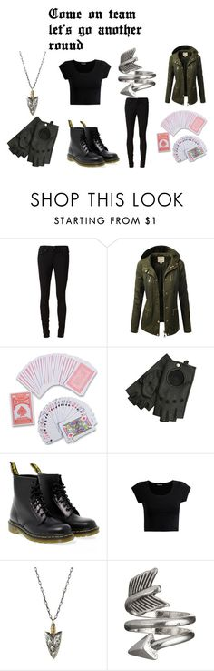 """Cassandra plays card"" by nightgirl250 on Polyvore featuring rag & bone/JEAN, J.TOMSON, Victoria Beckham, Dr. Martens, Workhorse, TheOriginals, KlausMikealson, myOC, hybrids and nightgirl250"