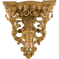 French Regence Giltwood Bracket For Sale at Louis Xiv, Contemporary Home Decor, Modern Wall, Decorative Objects, Decorative Accessories, Rococo Furniture, Furniture Design, Art Nouveau, Vintage Wall Sconces