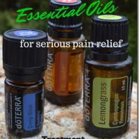 Using Essential Oils for Serious Pain Relief (for arthritis pain, muscle aches, sprained noses, and more)