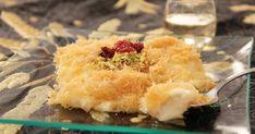 Knafeh de queso. Postre sirio con queso Receta de Aklat del Mundo - Cookpad