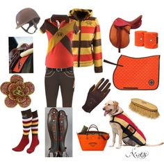 Fall Hues by niki-sackman on Polyvore featuring Chanel, Roeckl Sports, Hermès, Ariat and Chaps