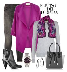 """Purple & Grey Mix"" by romaboots-1 ❤ liked on Polyvore featuring R13, River Island, MICHAEL Michael Kors, EMMA J SHIPLEY, See by Chloé, Michael Kors, Juicy Couture and John Hardy"