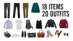 How to Pack 20 Outfits in One Carry-on - Stylebook: a closet and wardrobe fashion app for the iPhone