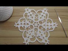 How To Crochet (Fast & Easy) Crochet Hair Ties / Craft Show Favorite - Crochet Cookie Filet Crochet, Crochet Shell Stitch, Crochet Motifs, Thread Crochet, Crochet Stitches, Crochet Patterns, Crochet Potholders, Crochet Hair, Crochet Christmas Hats