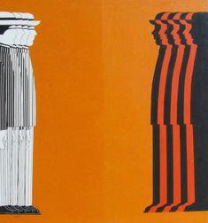 Γαϊτης Γιάννης – Giannis Gaitis [1923-1984] | paletaart - Χρώμα & Φώς Pinstripe Art, Political Posters, Pinstriping, Custom Paint, Old School, Modern Art, Painters, Illustration, Greek
