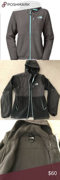 ✨SALE✨Denali Fleece Hoodie Gently used condition. Please see last picture for some pilling on the inside of jacket. No damages or stains anywhere else.  Still on sale online for $199!!! North Face Jackets & Coats