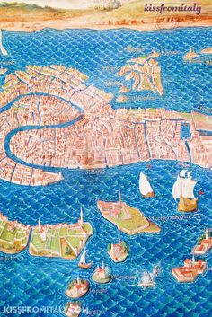 The Gallery of Maps is one of the most amazing parts of the Vatican museums. Not only these maps are spectacular works of art, but most interestingly they show how Italian cities and territories were during the Renaissance times.