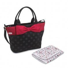 Minnie looks so stylish you'll forget they're #DiaperBags! #DisneyBaby