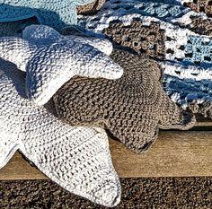 Kissen - Kissen STERN - kuschelweiche Baumwolle - ein Designerstück von HansensGasse bei DaWanda