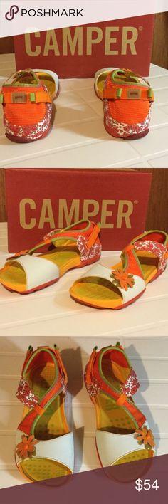 CAMPER Sandals EUC like New Size 8 Adorable CAMPER Sandals Walk don't Run Size 8 EUC Like new Camper Shoes Sandals