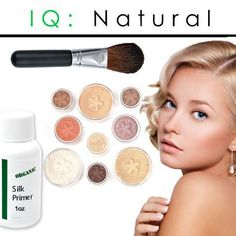 Natural Makeup by IQ Natural, Large Pure Mineral Makeup Starter Set with Brush, FAIR Shade - http://essential-organic.com/natural-makeup-by-iq-natural-large-pure-mineral-makeup-starter-set-with-brush-fair-shade/