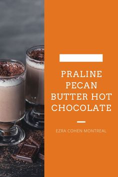 Our praline pecan butter hot chocolate is a great after-dinner treat. Using praline pecan butter, chocolate chips, dairy or dairy-free milk, and coconut cream, this recipe is a crowd-pleaser! Pralines And Cream, Pecan Pralines, Butter Recipe, Nut Butter, Chocolate Chips, Hot Chocolate, Dairy Free Milk, Unsweetened Cocoa, Coconut Cream
