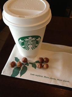 #gununkahvesi from wearasmile, The real hazelnut coffee