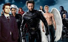 X Men - David Tennant in places he shouldn't be
