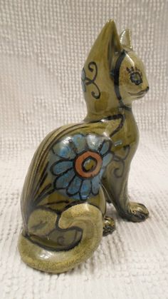Mid Century Modern Bagni Bitossi Raymor Era Cat Art Pottery Made in Italy | eBay
